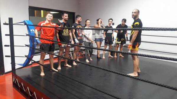 Cuadrilátero,Jiu Jitsu